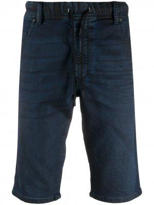 Джинсовые шорты Diesel. Цвет: синий