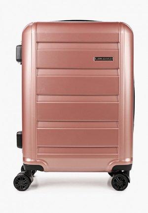 Чемодан Lancaster. Цвет: розовый
