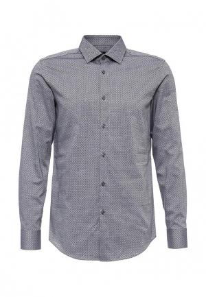 Рубашка Boss Hugo. Цвет: серый