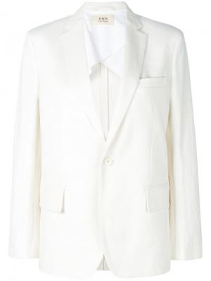 Классический пиджак Ports 1961. Цвет: белый