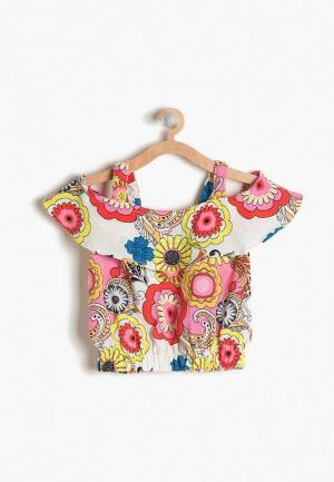 Блуза Koton. Цвет: разноцветный