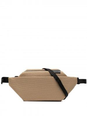 Поясная сумка на молнии Côte&Ciel. Цвет: нейтральные цвета
