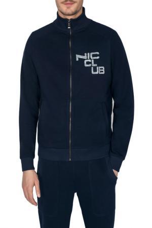 Куртка Nic Club. Цвет: темно-синий