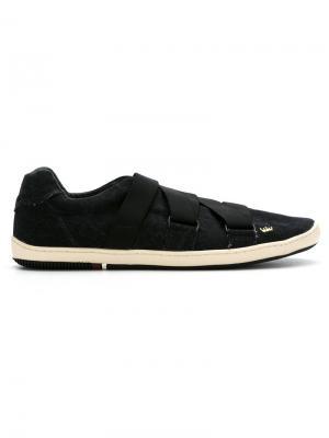 Кроссовки с панельным дизайном Osklen. Цвет: черный