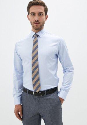 Рубашка Selected Homme. Цвет: голубой