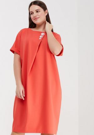 Платье Aelite. Цвет: красный