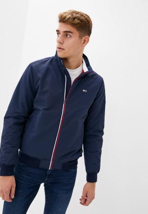 Куртка утепленная Tommy Jeans. Цвет: синий