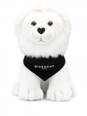 Мягкая игрушка с логотипом Givenchy Kids. Цвет: белый