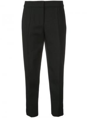 Укороченные брюки кроя слим Narciso Rodriguez. Цвет: черный