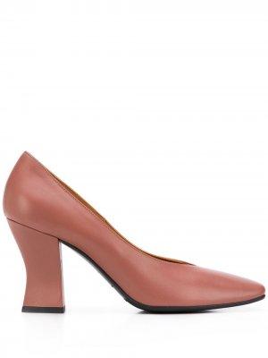 Туфли с квадратным носком Roberto Festa. Цвет: коричневый