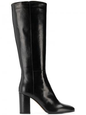 High heel boots Vittorio Virgili. Цвет: черный