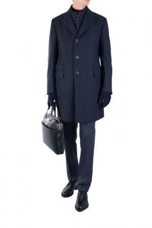 Пальто Corneliani. Цвет: мультицвет