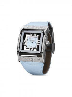 Наручные часы Furtif 37 мм Jorg Hysek. Цвет: синий