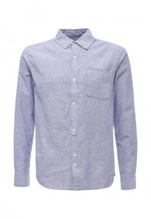 Рубашка Bellfield. Цвет: голубой