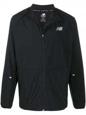 Спортивная куртка Impact New Balance. Цвет: черный