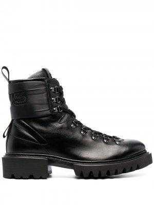 Ботинки по щиколотку Cesare Paciotti. Цвет: черный