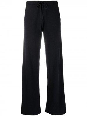Кашемировые брюки свободного кроя Chinti and Parker. Цвет: синий