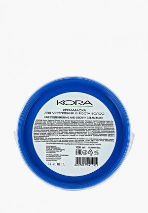 Маска для волос Kora. Цвет: прозрачный