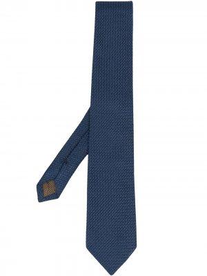 Churchs фактурный галстук Church's. Цвет: синий