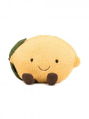 Мягкая игрушка Amuseable Lemon Jellycat. Цвет: оранжевый