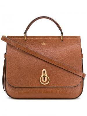 Amberley shoulder bag Mulberry. Цвет: коричневый