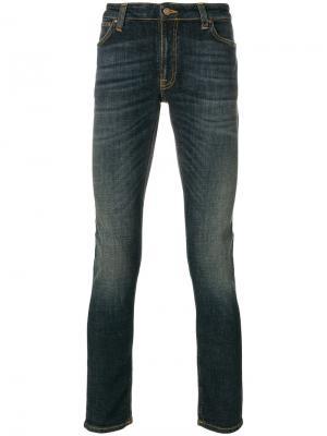 Джинсы Lean Dean Nudie Jeans Co. Цвет: синий