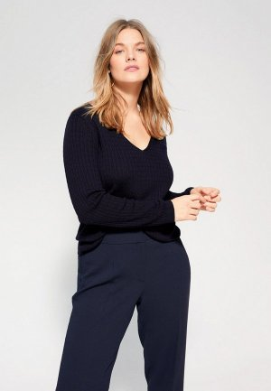 Пуловер Violeta by Mango. Цвет: синий