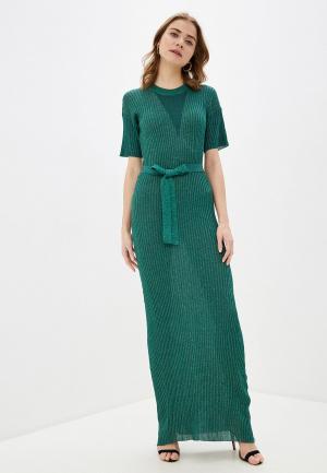 Платье Silvian Heach. Цвет: зеленый