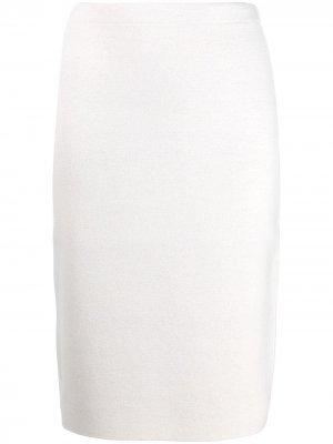 Трикотажная юбка-карандаш D.Exterior. Цвет: нейтральные цвета