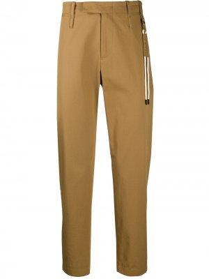 Укороченные брюки Craig Green. Цвет: нейтральные цвета
