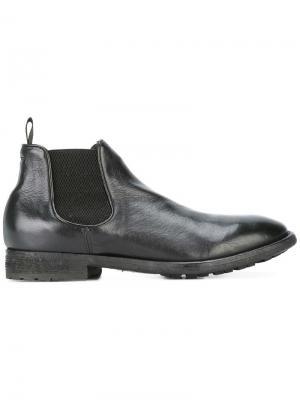 Ботинки-челси Princeton Officine Creative. Цвет: черный