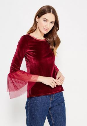 Блуза adL. Цвет: бордовый