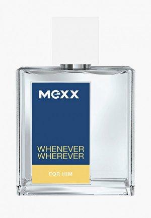 Туалетная вода Mexx. Цвет: прозрачный