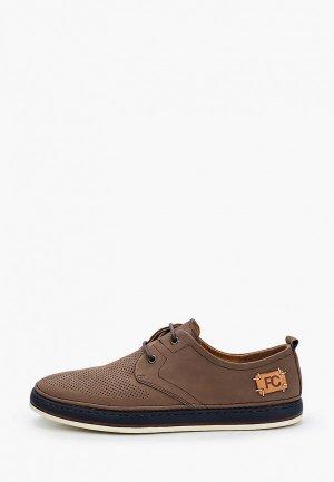 Туфли Paolo Conte. Цвет: коричневый