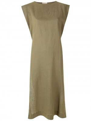 Платье-туника Sopro PIU BRAND. Цвет: зеленый