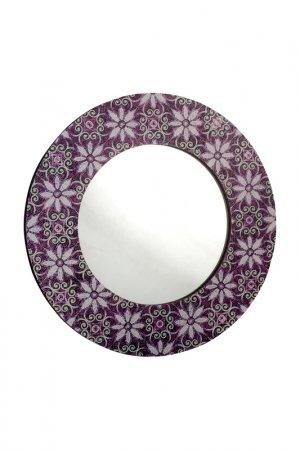 Зеркало настенное GIFTNHOME GIFT'N'HOME. Цвет: фиолетовый