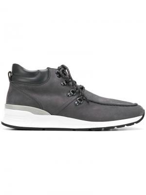 Ботинки на шнуровке Tod's. Цвет: серый
