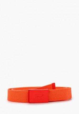 Ремень Levis® Levi's®. Цвет: оранжевый