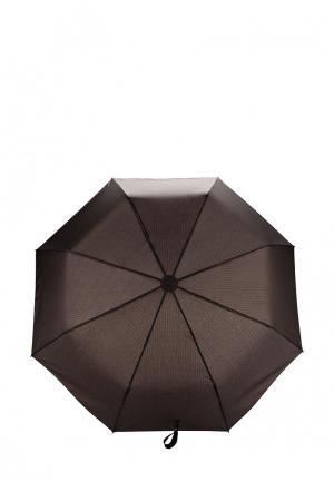 Зонт складной Eleganzza. Цвет: коричневый