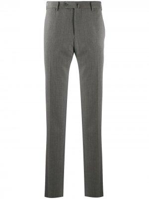 Узкие брюки строгого кроя Pt01. Цвет: серый