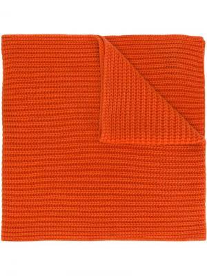 Вязаный шарф Iris Von Arnim. Цвет: оранжевый