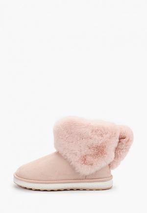 Полусапоги Vivian Royal. Цвет: розовый