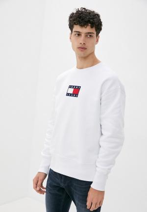Свитшот Tommy Jeans. Цвет: белый