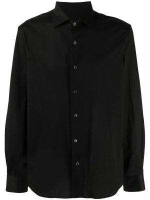 Рубашка стандартного кроя Corneliani. Цвет: черный