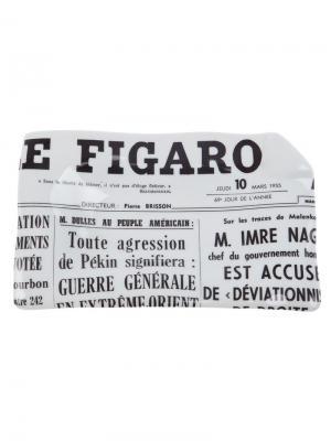 Пепельница Le Figaro Fornasetti. Цвет: белый