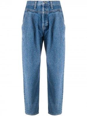 Зауженные джинсы  Savi RE/DONE. Цвет: синий