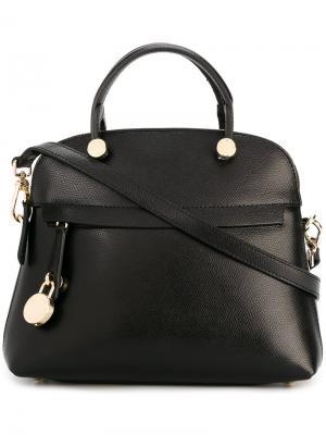 Классическая сумка-тоут Furla. Цвет: чёрный