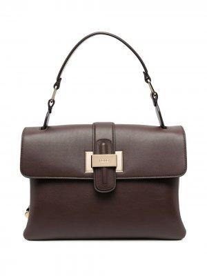 Прямоугольная сумка Rodo. Цвет: коричневый