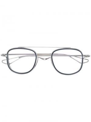 Очки Tessel Dita Eyewear. Цвет: серебристый