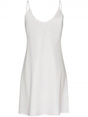 Ночная сорочка Pour Les Femmes. Цвет: белый